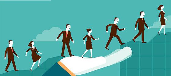 """Porque a """"epidemia"""" do engajamento começa e termina com a liderança"""